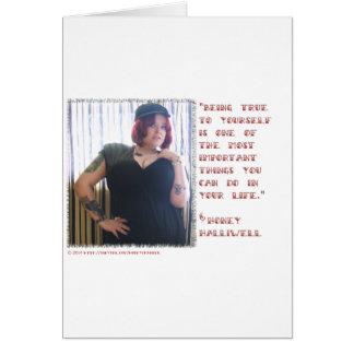 "Honey Halliwell ""True"" Motif Items Card"