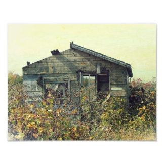 Honey House Distressed Photo