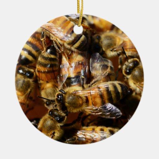 Honey, I Love You, Honey Bees Christmas Ornaments
