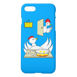 Honey I'm Home Chickens iPhone 7 Case