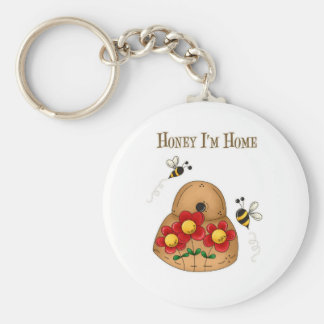 Honey I'm Home Key Ring