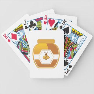 Honey Jar Bicycle Playing Cards