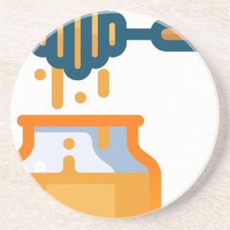 Honey Jar Coaster