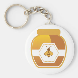 Honey Jar Key Ring
