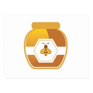Honey Jar Postcard