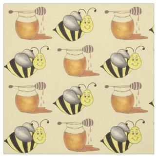 Honey Jar Pot Honeypot Bee Honeybee Bumblebee Fabric