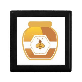 Honey Jar Small Square Gift Box