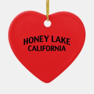 Honey Lake California Christmas Tree Ornaments