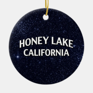 Honey Lake California Christmas Ornaments