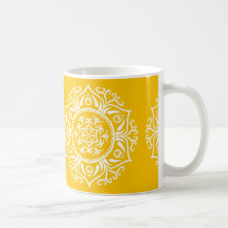 Honey Mandala Coffee Mug