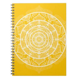 Honey Mandala Notebook