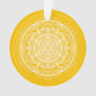Honey Mandala Ornament