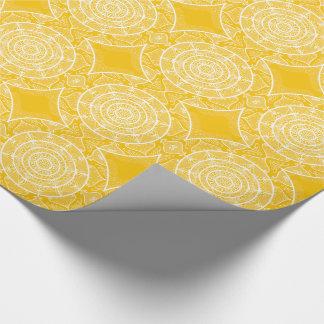 Honey Mandala Wrapping Paper