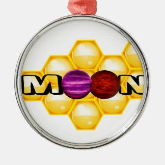 HONEY MOON METAL ORNAMENT