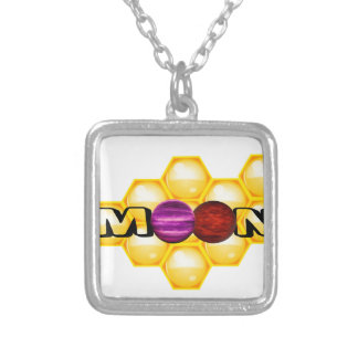 HONEY MOON SILVER PLATED NECKLACE