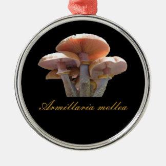 Honey mushroom christmas ornament