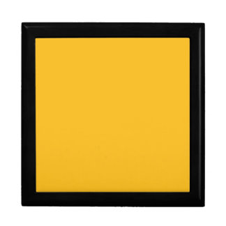Honey Mustard Yellow Color Trend Blank Template Gift Box