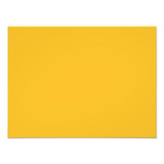 Honey Mustard Yellow Color Trend Blank Template Photo Art
