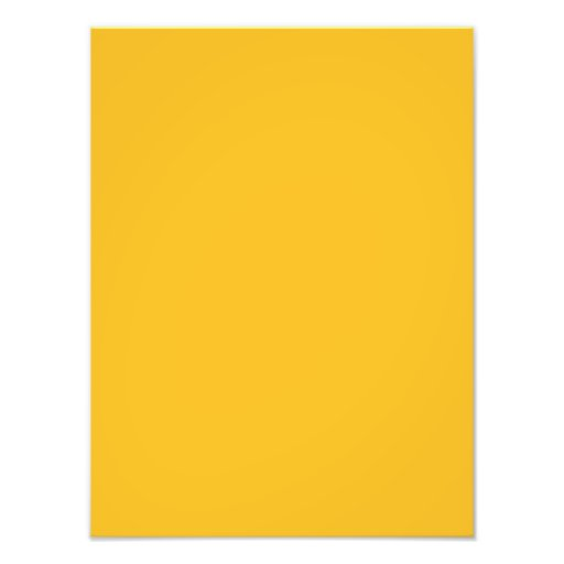 Honey Mustard Yellow Color Trend Blank Template Photographic Print