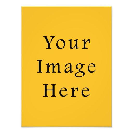 Honey Mustard Yellow Color Trend Blank Template Art Photo