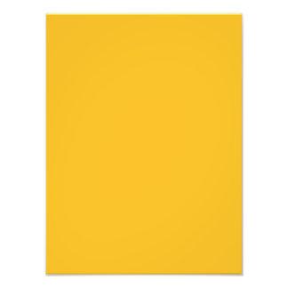Honey Mustard Yellow Colour Trend Blank Template Photograph