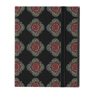 Honey nest - bohemian tribal mandala chic pattern iPad folio case