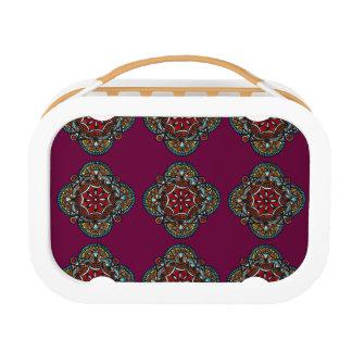 Honey nest - chic mandala pattern bohemian life lunch box