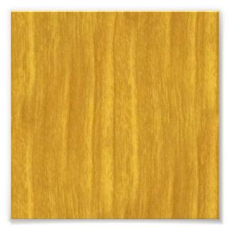 Honey oak vertical stripe age lines photo print