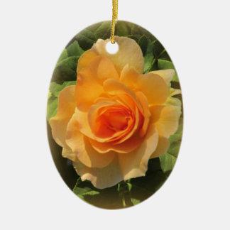 Honey Perfume Rose Ceramic Oval Decoration