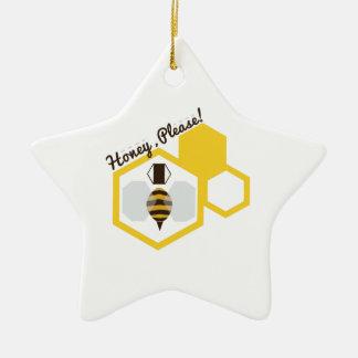 Honey Please Christmas Tree Ornaments