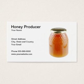 Honey Producer Business Card