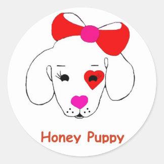 Honey Puppy New name brand Sticker
