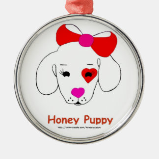 Honey Puppy  Ornament
