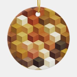 Honey Round Ceramic Decoration