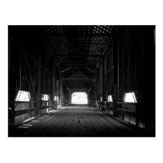 Honey Run covered Bridge Chico California Postcard