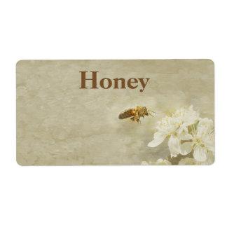 Honey Shipping Label