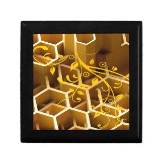 honey small square gift box