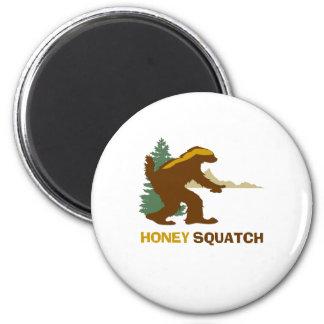 Honey Squatch 6 Cm Round Magnet