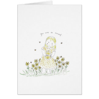 Honey sweet card