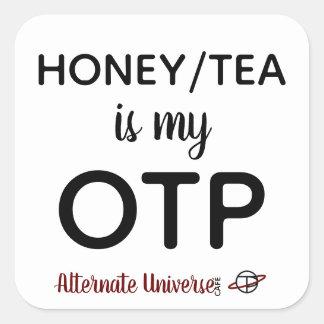 Honey/Tea is my OTP stickers