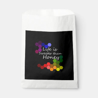 Honey Theme With Positive Words Favour Bag