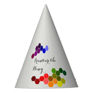 Honey Theme With Positive Words Party Hat