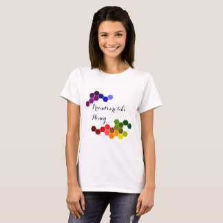 Honey Theme With Positive Words T-Shirt
