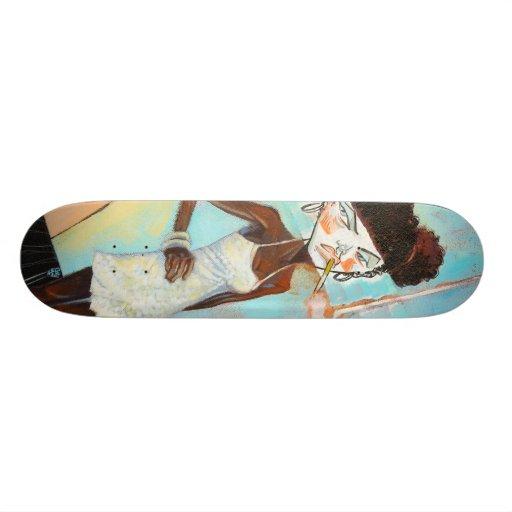 """""""Honey White"""" Skate Deck"""