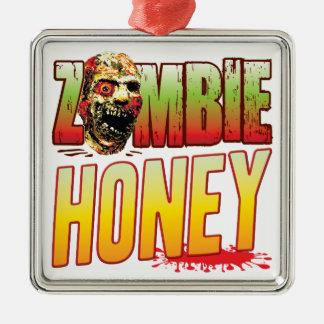 Honey Zombie Head Ornaments