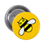 Honeybee Pinback Button