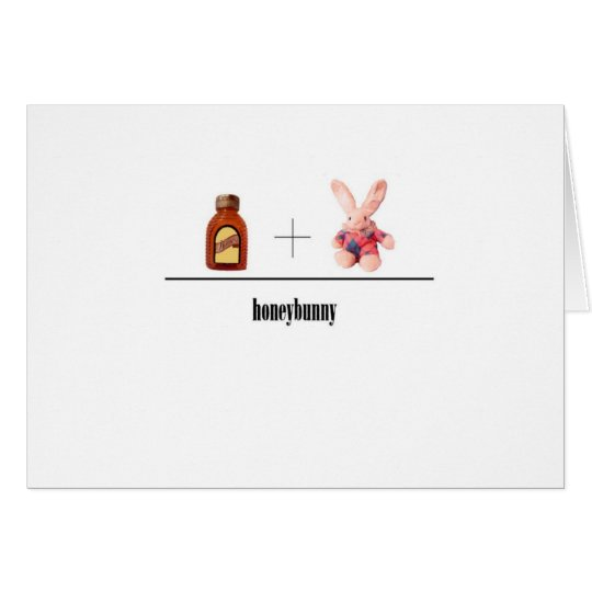 Honeybunny card