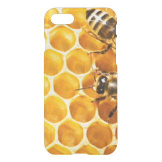 Honeycomb and Bees Pattern Design iPhone 8/7 Case