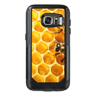 Honeycomb and Bees Pattern Design OtterBox Samsung Galaxy S7 Case