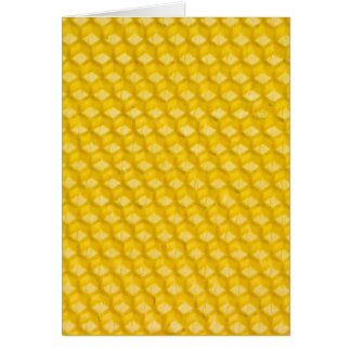Honeycomb Background Gifts Template Card